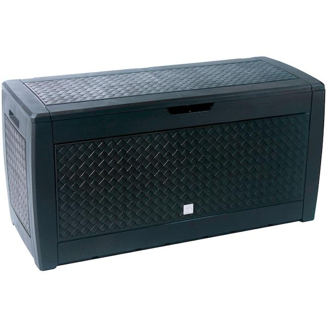 PROSPERPLAST Aufbewahrungsbox »Matuba«, mit Flechtmuster, 310 l