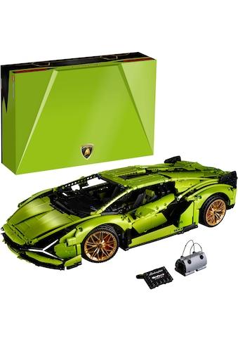 "LEGO® Konstruktionsspielsteine ""Lamborghini Sián FKP 37 (42115), LEGO® Technic"", Kunststoff, (3696 - tlg.) kaufen"