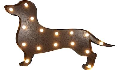 MARQUEE LIGHTS,LED Dekolicht»Dackel Teckel«, kaufen