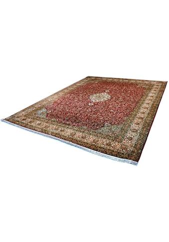 Kayoom Seidenteppich »Kashan 5840«, rechteckig, 10 mm Höhe, Einzelstück mit... kaufen