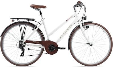 KS Cycling Trekkingrad »Venice«, 21 Gang, Shimano, Tourney Schaltwerk, Kettenschaltung kaufen