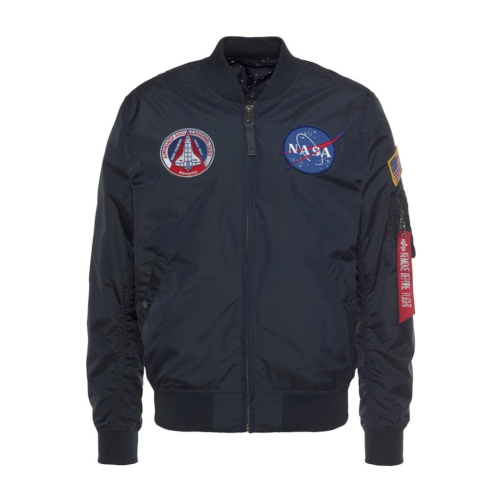 Alpha Industries Bomberjacke »MA-1 TT NASA«