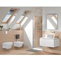 VILLEROY & BOCH Tiefspül-WC »Architectura«, wandhängend mit DirectFlush, Weiß Alpin CeramicPlus
