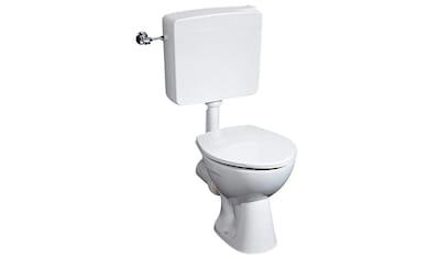 CORNAT Komplett - Set: Stand - WC »4 - er Set«, SItzhöhe 39 cm kaufen