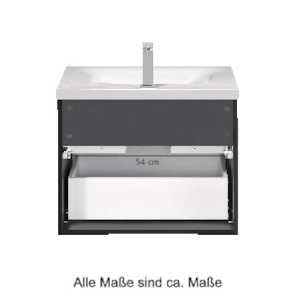 WELLTIME Premium-Waschtisch »Alaska«, Waschplatz, Breite 60 cm, 2-tlg.
