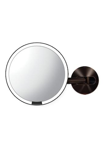 simplehuman Spiegel »20cm Sensorspiegel mit Wandaufbau verdrahtet« kaufen
