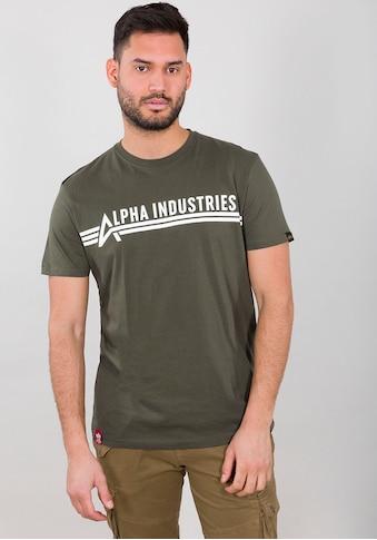Alpha Industries Rundhalsshirt »ALPHA INDUSTRIES T« kaufen