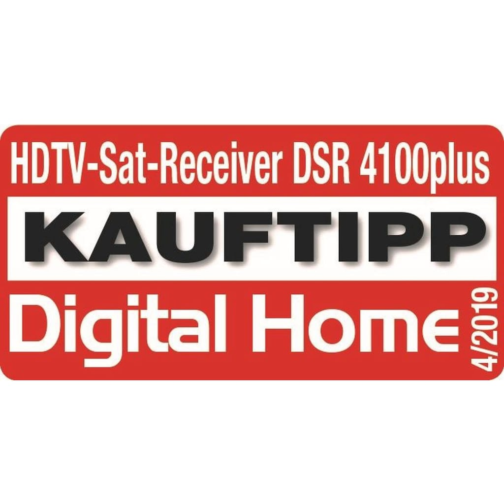 Ankaro SAT-Receiver »ANK DSR 4100plus Full HD«