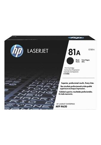 HP Druckkassette HP 81A kaufen