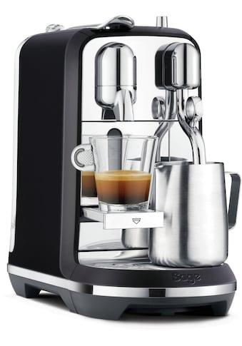 Nespresso Kapselmaschine »SAGE Nespresso-Maschine »The Creatista Plus, schwarz,... kaufen