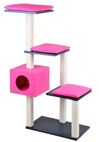 SILVIO design Kratzbaum »Stufenboy Cosy«, hoch, BxTxH: 80x36x126 cm kaufen