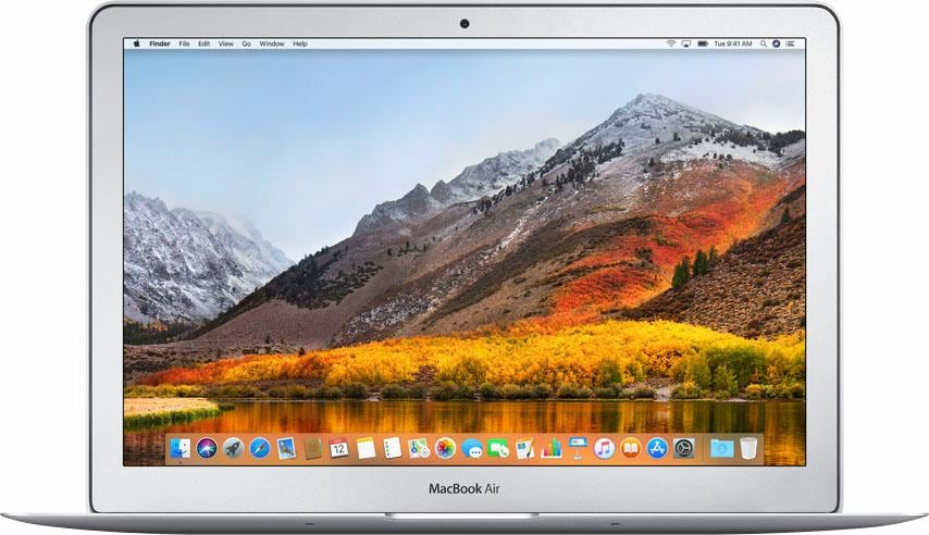 Apple MacBook Air Notebook (33,8 cm / 13,3 Zoll, Intel, Core i5, 128 GB SSD)