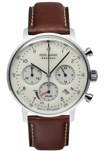 IRON ANNIE Chronograph »Bauhaus, Solar Chronograph, 5086-5« kaufen