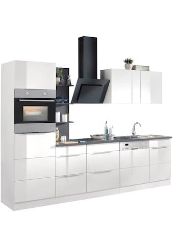 HELD MÖBEL Küchenzeile »Brindisi«, mit E - Geräten, Breite 280 cm kaufen