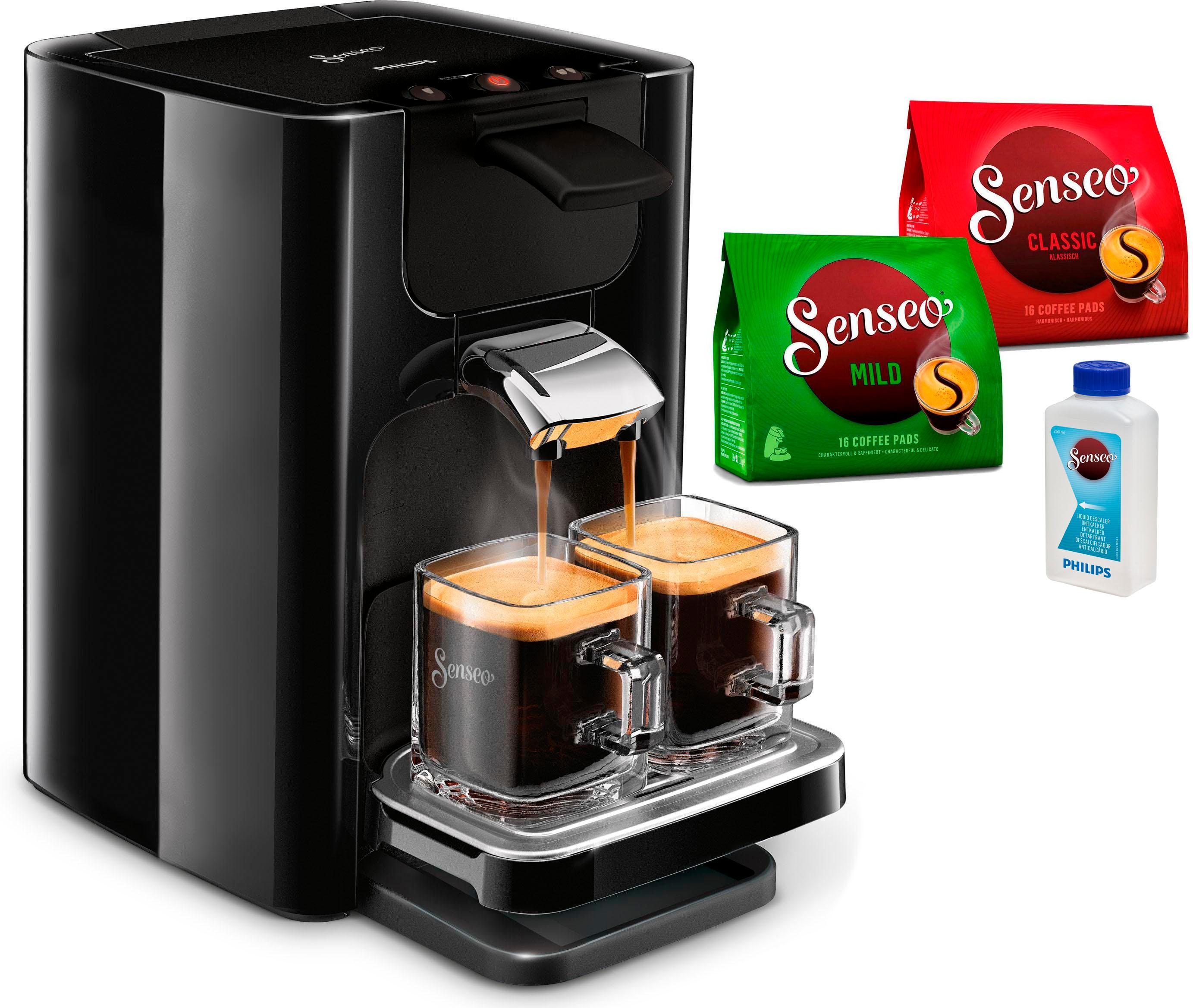 senseo kaffeepadmaschine senseo quadrante hd7865 60 auf. Black Bedroom Furniture Sets. Home Design Ideas