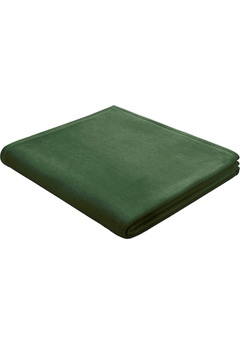 BIEDERLACK Wohndecke »Squares«, im Uni Design kaufen