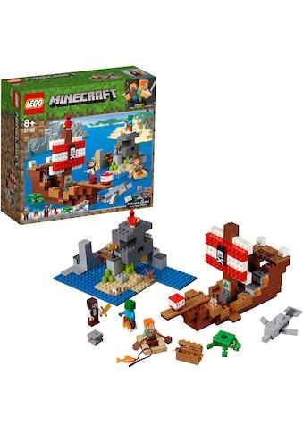LEGO® Konstruktionsspielsteine »Das Piratenschiff-Abenteuer (21152), LEGO®... kaufen