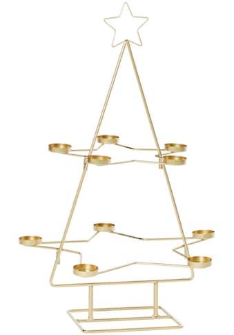 Teelichthalter »Weihnachtsbaum« kaufen