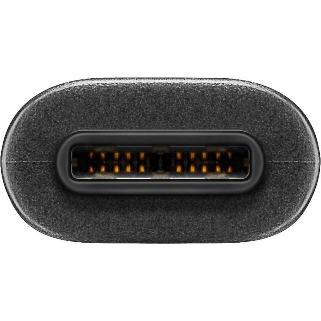 goobay USB-C(TM) auf Typ A USB 3.0 SCHWARZ 0.5m »USB-C(TM)«