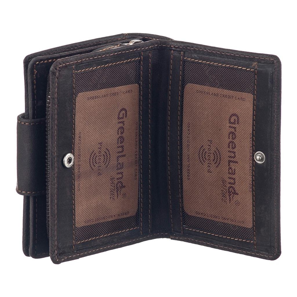 GreenLand Nature Geldbörse »WESTCOAST«, mit RFID-Schutz
