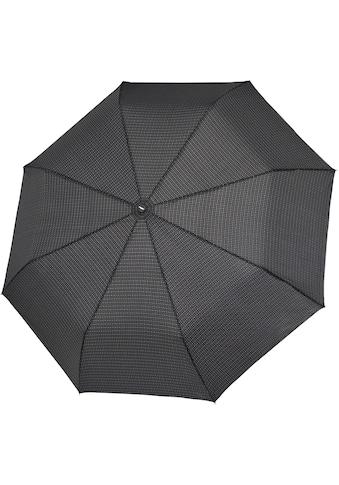 doppler® Taschenregenschirm »Fiber Magic Herren gemustert, jasper grey« kaufen