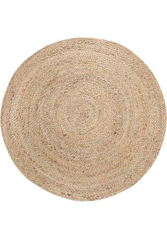 andas Teppich »Mataro«, rund, 4 mm Höhe, Wendeteppich, Wohnzimmer kaufen