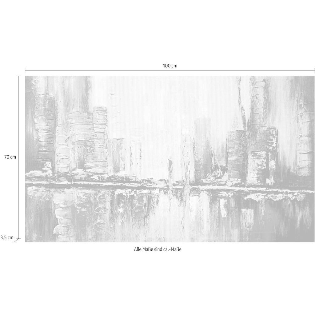 my home Gemälde »Reflektion«, (100/3,5/70 cm)