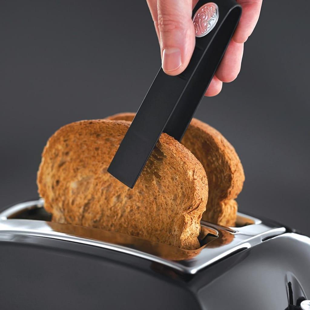 RUSSELL HOBBS Toaster »22601-56 Textures Plus«, 2 kurze Schlitze, für 2 Scheiben, 850 W