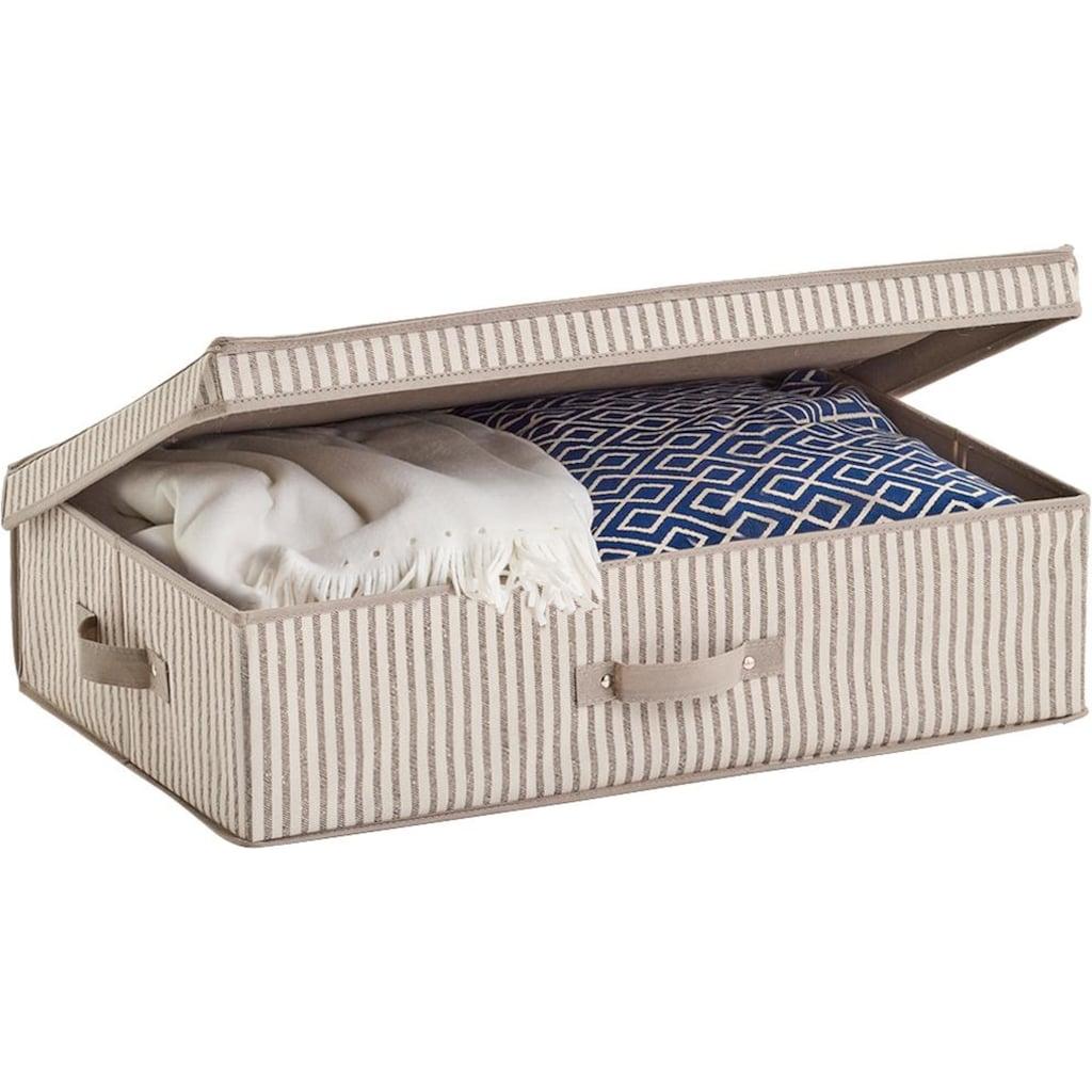 Zeller Present Aufbewahrungsbox »Stripes«, Vlies, beige