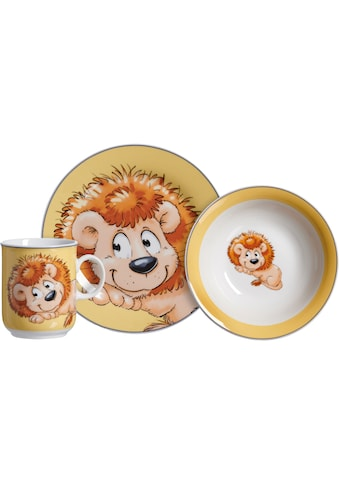 Ritzenhoff & Breker Kindergeschirr-Set »Happy Zoo, Leo,«, (Set, 3 tlg.), mit Löwen-Dekor kaufen