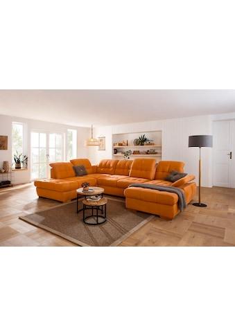 Home affaire Wohnlandschaft »Lotus Home«, incl. Sitztiefenverstellung, wahlweise mit... kaufen