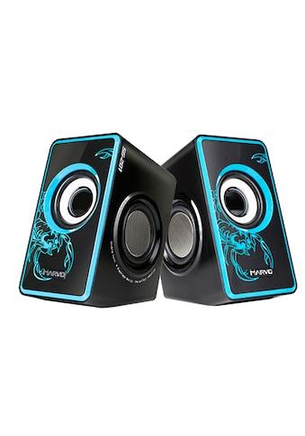MARVO Tragbares Stereo Lautsprechersystem »SG-201RD 2.0 Speaker« kaufen