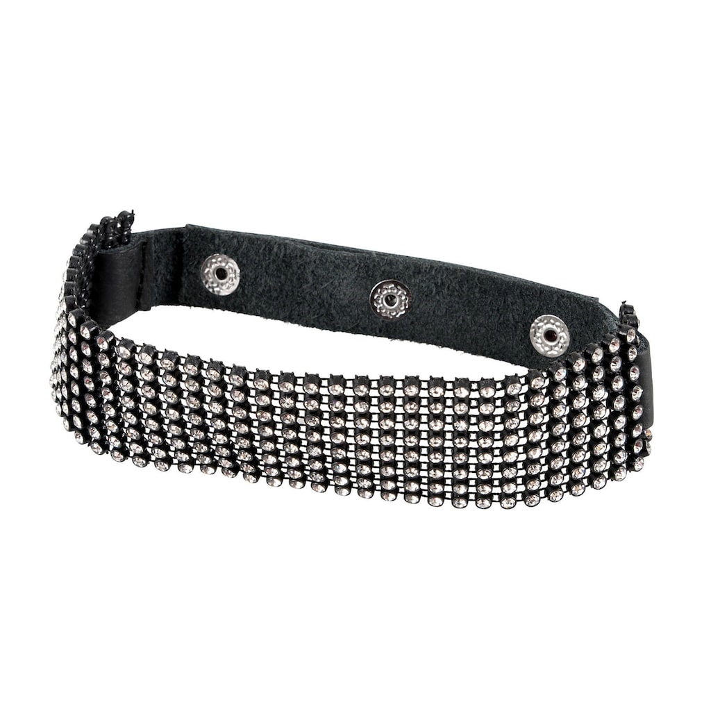 Bad Kitty Erotik-Halsband, mit Strasselementen