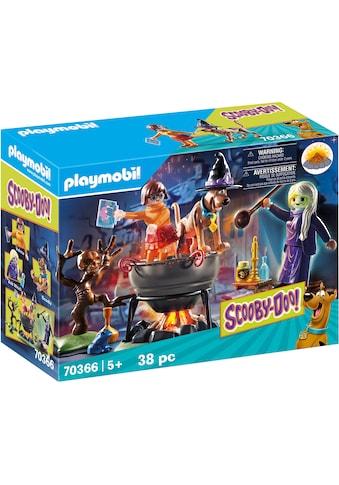 """Playmobil® Konstruktions - Spielset """"SCOOBY - DOO! Abenteuer im Hexenkessel (70366), SCOOBY - DOO!"""", Kunststoff kaufen"""