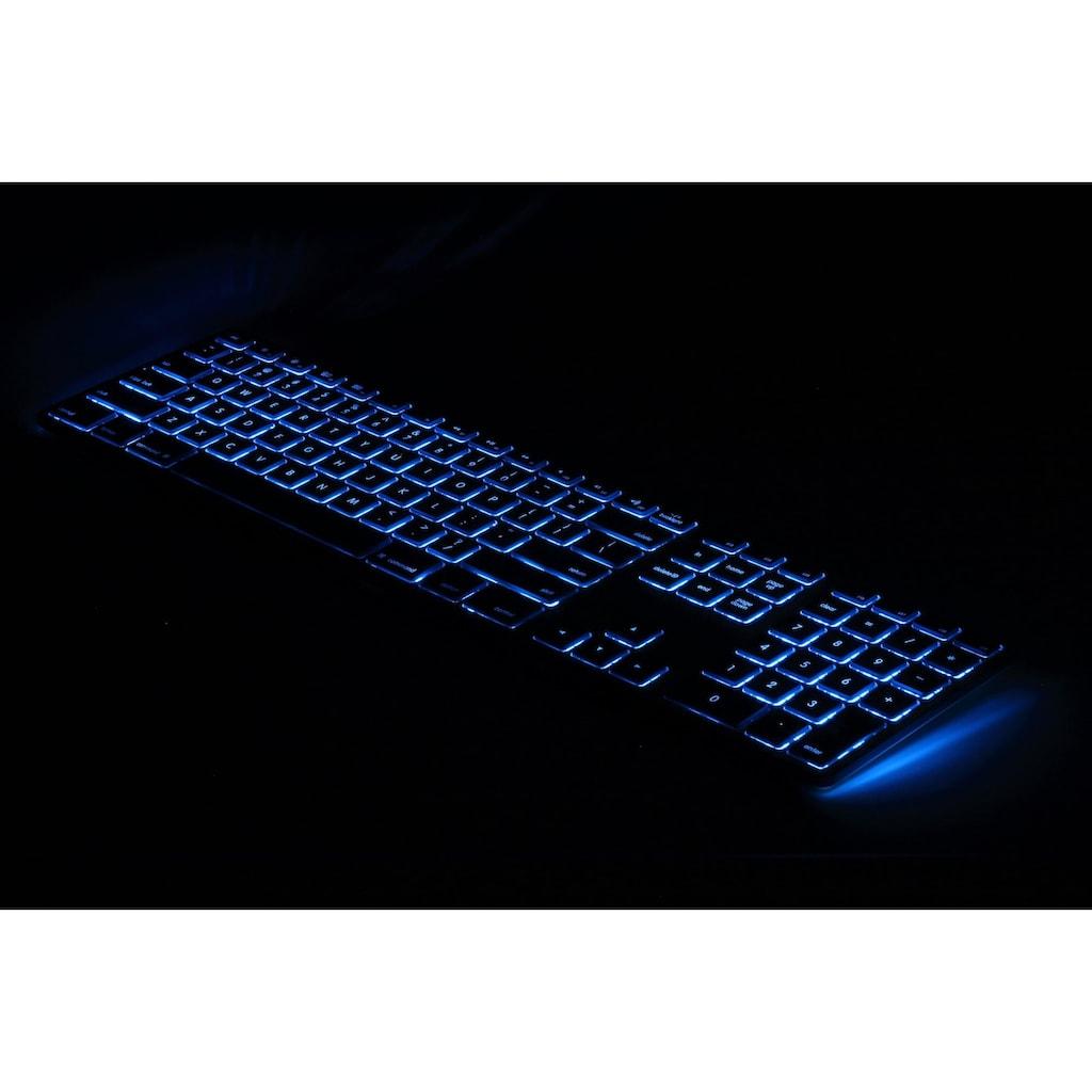 matias USB Aluminiumtastatur mit Nummernblock »Aluminium USB Keyboard US-Layou für Mac OS«