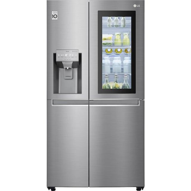 LG Side-by-Side, GSI961PZAZ, 179 cm hoch, 91,2 cm breit, InstaView Door-in-Door™