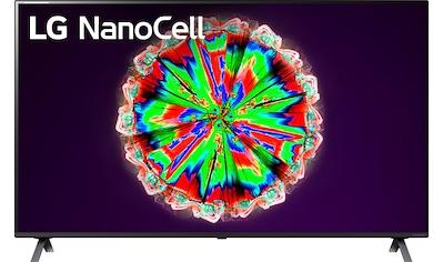 "LG LED-Fernseher »49NANO806NA«, 123 cm/49 "", 4K Ultra HD, Smart-TV, NanoCell kaufen"