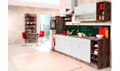 HELD MÖBEL Küchenzeile »Sevilla«, mit Elektrogeräten, Breite 300 cm kaufen