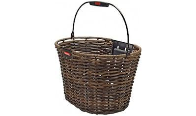 KlickFix Fahrradkorb »Vorderradkorb Structura Oval« kaufen