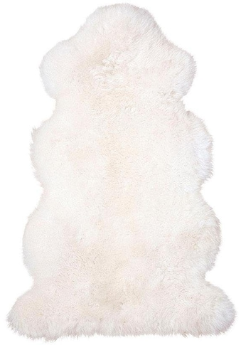 Fellteppich, »Lammfell 156 weiß«, Heitmann Felle, fellförmig, Höhe 70 mm, gegerbt kaufen