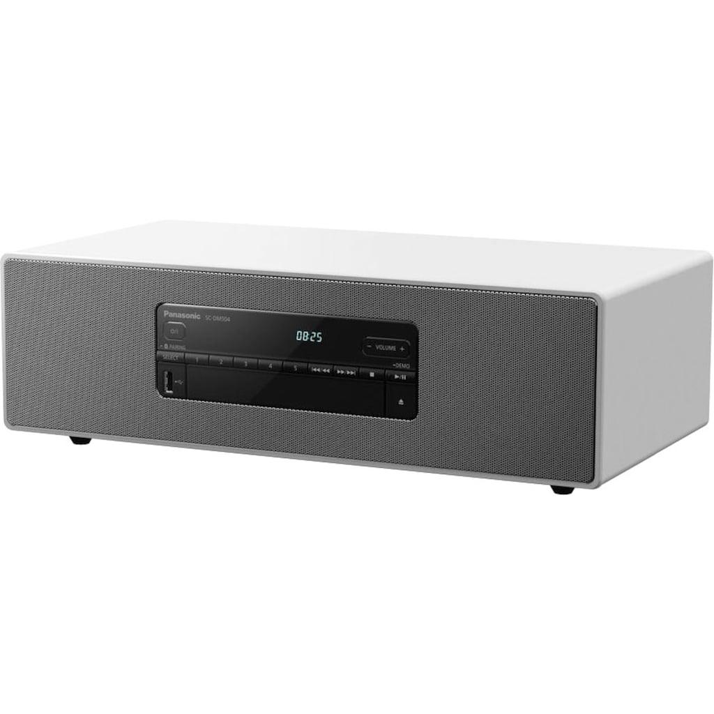 Panasonic Audio-System »SC-DM504«, HiFi Micro System mit 40W, CD, Bluetooth, DAB+