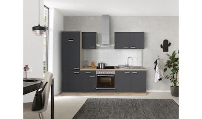 OPTIFIT Küchenzeile »Iver«, 270 cm breit, inkl. Elektrogeräte der Marke HANSEATIC,... kaufen