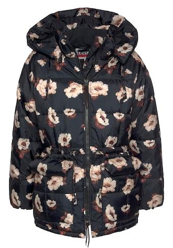Levi's® Steppjacke »Roland Puffer«, mit floralem Muster kaufen