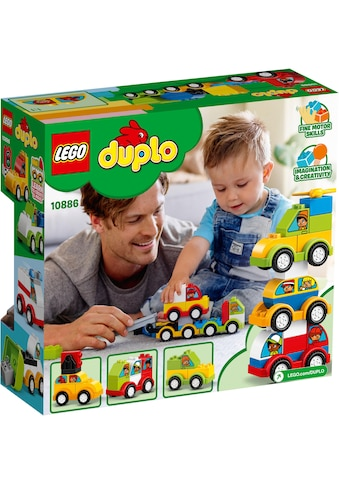 """LEGO® Konstruktionsspielsteine """"Meine ersten Fahrzeuge (10886), LEGO® DUPLO™"""", (34 - tlg.) kaufen"""