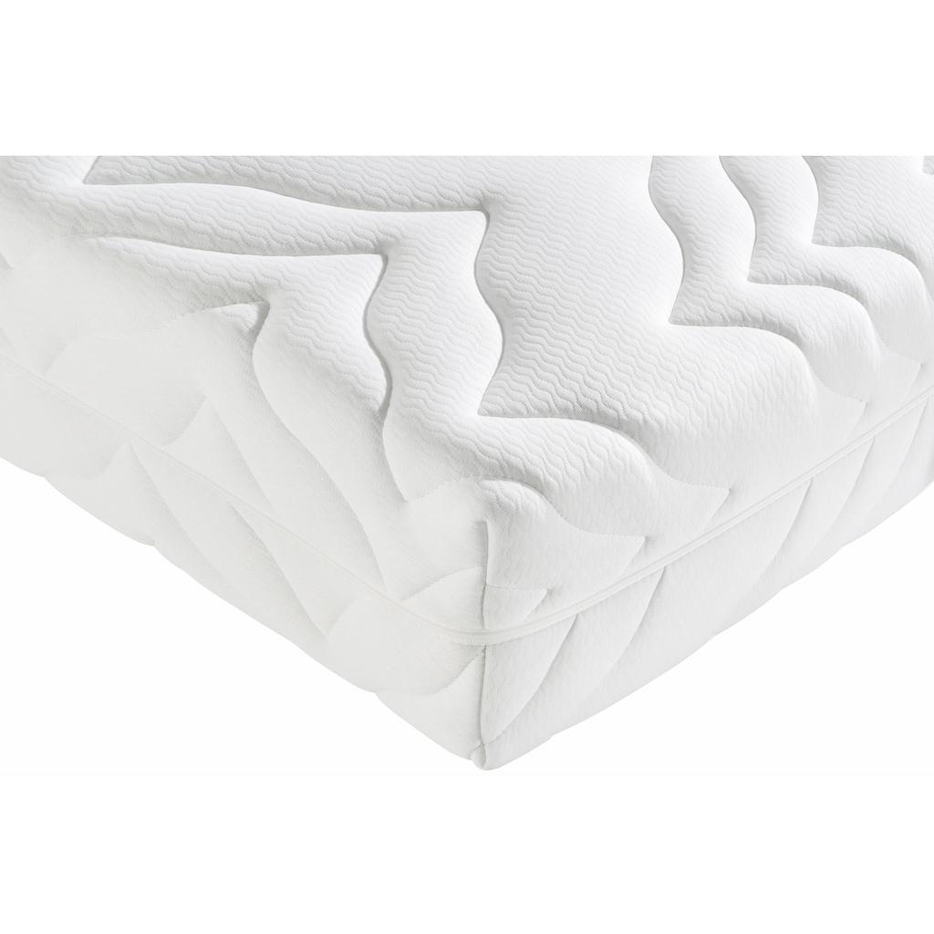 Breckle Taschenfederkernmatratze »First Class«, 25 cm cm hoch, 1000 Federn, (1 St.), 7-Zonen Taschenfederkern,angehnemer Liegekomfort, Freiraum für Entspannung