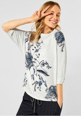 Cecil 3/4-Arm-Shirt, mit floralem Druck kaufen
