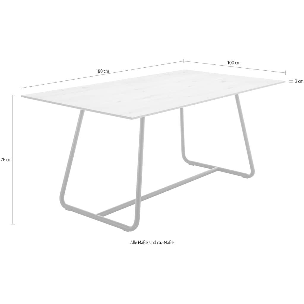 GWINNER Esstisch »Style«, mit Metallgestell