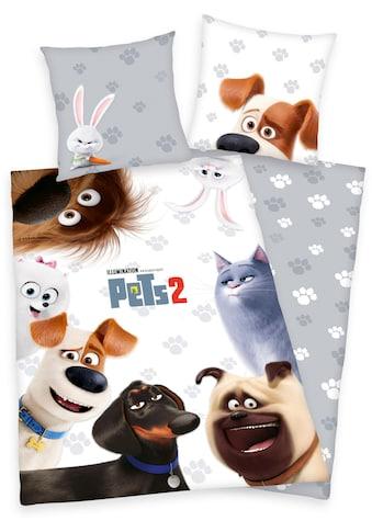Kinderbettwäsche »Pets 2«, mit Tiermotiven kaufen