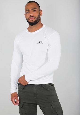 Alpha Industries Langarmshirt »Basic LS Small Logo« kaufen