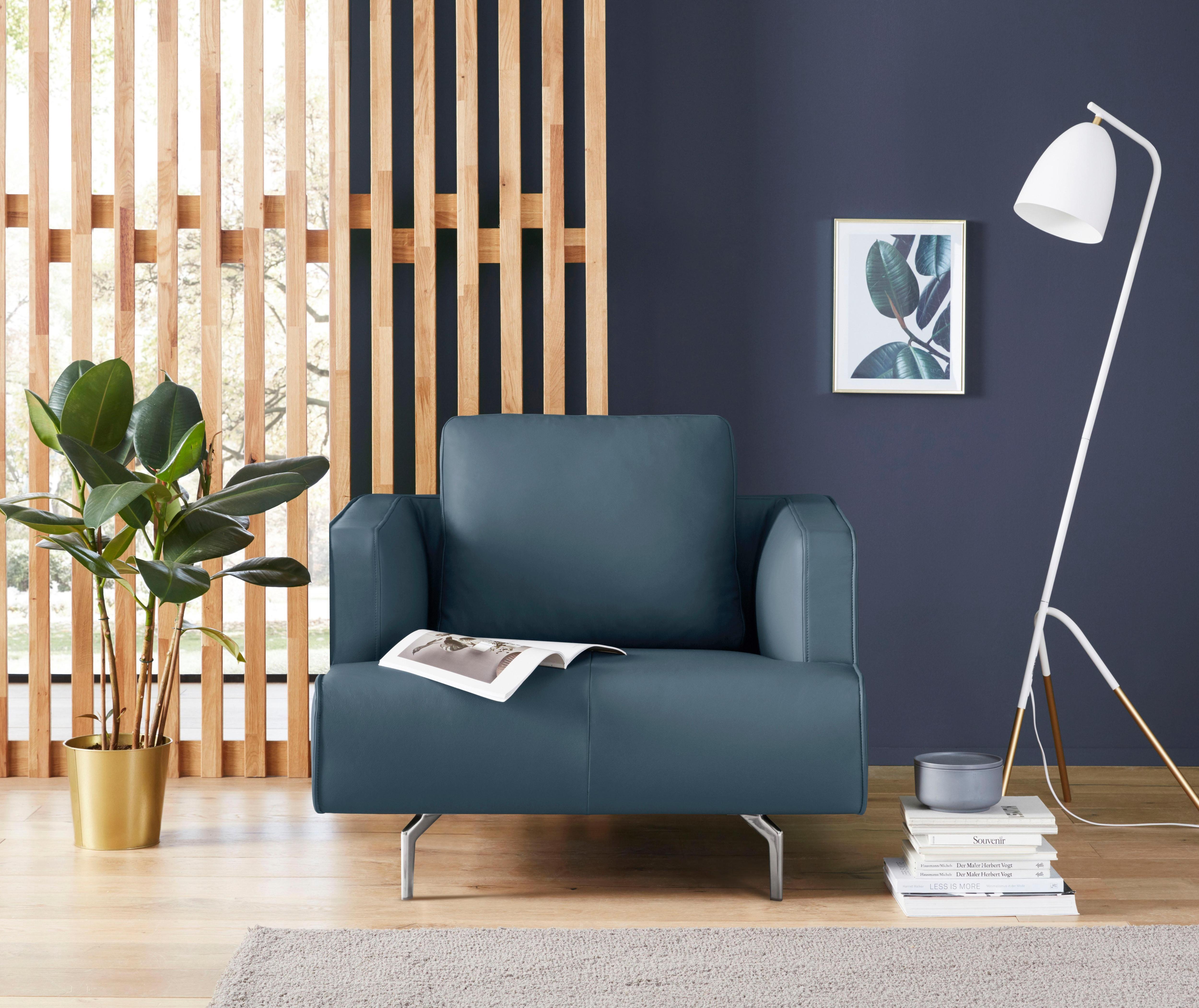 hülsta sofa Sessel »hs.440«, wahlweise in Stoff oder Leder, Gussfüße polier günstig online kaufen
